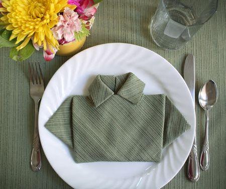 How-to-fold-napkin-shirt