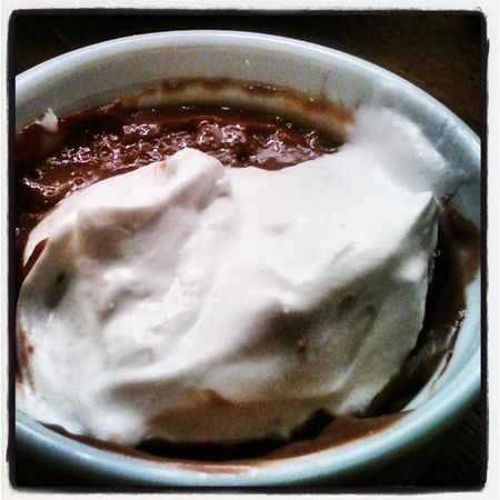 Delish choco pudding