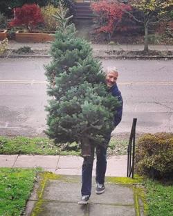 Greg and the christmas tree