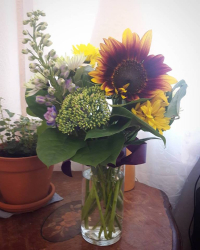 Pub day flowers from booksparks
