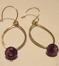 Tumbleweed-bead-co-medium-gold-filled-leaf-earring-amethyst-2