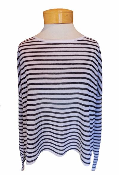Eileen-fisher-fine-linen-crepe-stripe-bateau-neck-black-white-2