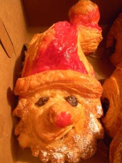 Santa pastry