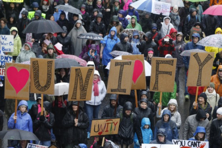 Unify portland protest