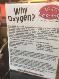 Oxygenbar