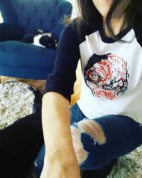 Me in sean's shirt