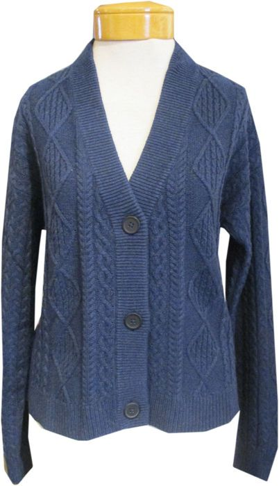 Margaret-o-leary-killarney-cable-cardigan-french-blue-10